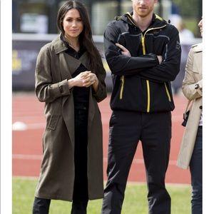 NWT As seen on Meghan Markle Aritzia Babaton coat